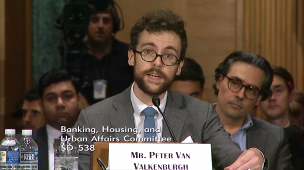 c652bae42d Crypto Defender Spars With Famed Critic During US Senate Hearing – CoinDesk